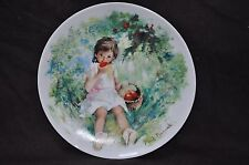 """Limoges-Turgot Collector Plate """"Marie Ange"""" by Paul Durand"""