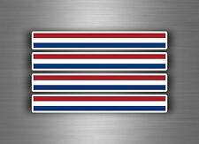 4x sticker adesivi adesivo vinyl auto moto tuning bandiera jdm bomb paesi bassi
