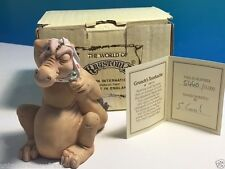World Krystonia Figurine Dragon Statue Nib Coa Box 1083 Grunch Toothache Signed