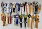 Vtg & Contemporary Beer Tap Lot of 24 Bud Sam Adams Labatt Shock Top CB IPA