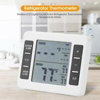 Digital Indoor Gefrierschrank Thermometer Temperatur Monitor Tester Wetterstatio