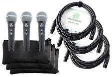 PRONOMIC DM-58-B VOCAL MIKROFON GESANGS MIKROFON HAND MIKROFON MIKRO SUPERNIERE