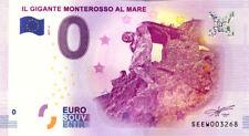 ITALIE Monterosso al Mare, 2017, Billet 0 € Souvenir