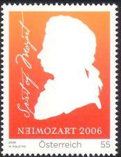 Austria 2006 Mozart/música/compositores/entretenimiento/ópera/personas 1 V (at1057)