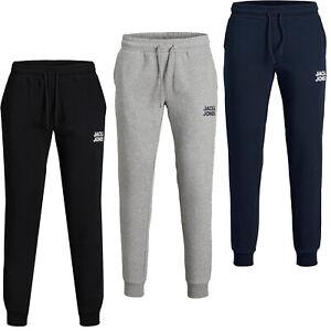 JACK & JONES Hombre pantalón chandal Mod 21 JJIGORDON, muy cómodo, logo marca