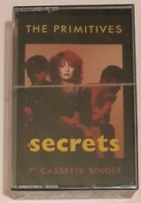 THE PRIMITIVES - Secrets - CASSETTE SINGLE *SEALED*