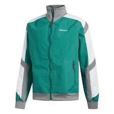 Adidas Originals Eqt Bloque Chaqueta Cortavientos Verde de Chándal Retro 80S 90S