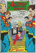 Action Comics #366 Fine- Silver Age DC