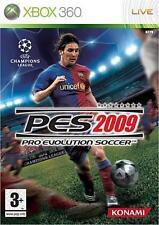 * XBOX 360 Game * PES 2009 - PRO EVOLUTION SOCCER 2009 * NEW SEALED