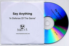 SAY ANYTHING In Defense Of The Genre UK promo test 2CD