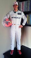 Michael Schumacher Display Stand Up Standee Figure Mercedes F1 Formula One