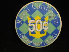 Royal Caribbean Rhapsody of the Seas - Fifty Cent Casino Chip Cruise Line Token
