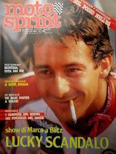 Motosprint 2 1983 Lawson al mondiale con Roberts. Inserto Sul Podio 82 [Q83]