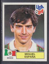 PANINI-USA 94 COPPA DEL MONDO - # 348 Miguel ESPANA-MESSICO (Verde Retro)