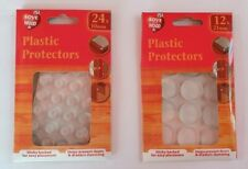 PLASTIC PROTECTORS PADS DOTS SELF ADHESIVE CABINET BUFFERS CUPBOARD 10mm or 21mm
