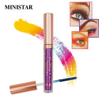 Colorful Glitter Mascara Waterproof Long-lasting Extension Makeup Mascaras