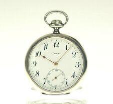 Rare Sammleruhr DOXA Silber Taschenuhr Herren Uhr pocket watch Uhren no spindel