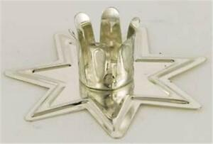 "Silver Tone ""Fairy Star"" Chime Candle Holder!"