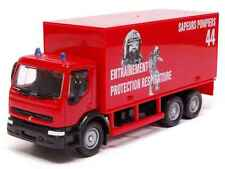 RENAULT PREMIUM EMERGENCY 1996- 1:60 FRENCH FIREFIGHTER SOLIDO DIECAST MODEL CAR