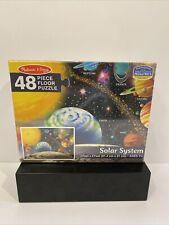 Melissa & Doug Solar System Floor Puzzle (48 pc) giant 3'x2' planets
