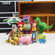 9Pcs Figurines Light Toys Story 3 Action Poupée Woody Buzz Rex Jouet Enfants