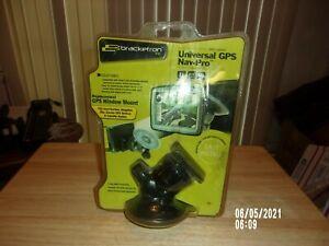 BRACKETRON UNIVERSAL GPS NAV-PRO REPLACEMENT GPS WINDOW MOUNT NEW/SEALED
