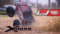"Traxxas 1:6 X-Maxx 8S Brushless TSM 4WD Monster Truck RTR 29.8"" Red 77086-4"