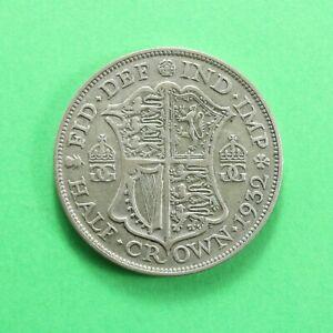 1932 George V Silver Half-Crown SNo58521