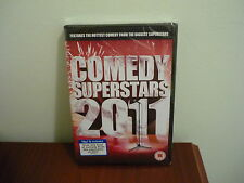 Comedy Superstars 2011 dvd - still sealed in wrapper