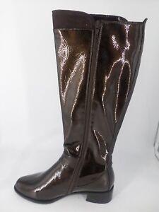 Ladies Tigerseye Knee Eye Boots UK 8 EU 41 BT01 79