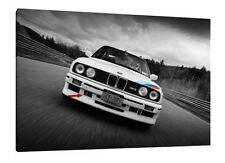 BMW E30 M3 - 30x20 Inch Canvas Art - Framed Picture Print Wall Art Poster