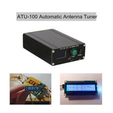 ATU-100 Automatic Antenna Tuner EXT 100W 1.8-50MHz Open Source Assembled + Case
