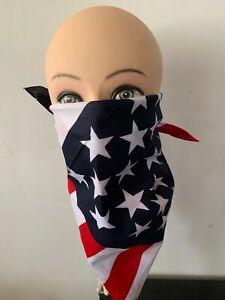 US SELLER New American flag bandana  Alot of 3pcs