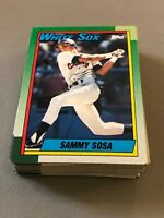 R) Lot of 30 SAMMY SOSA 1990 TOPPS ROOKIES RC BASEBALL CARDS WHITE SOX
