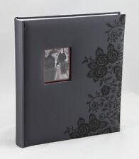 Secrets álbum de fotografías en negro para 200 fotos en 13x18 cm álbum de fotografías álbum Memo
