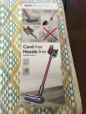 Dyson V7 Motorhead Cordless Vaccuum - Silver/Pink >>>>USED ONCE<<<<