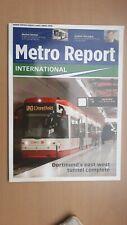 ► METRO REPORT International - June 2008