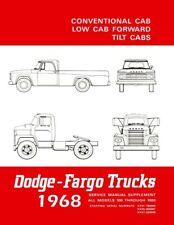 1967 Dodge Truck Shop Service Repair Manual Book Engine Drivetrain Wiring Guide