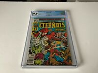 ETERNALS 14 CGC 9.6 COSMIC POWERED HULK APPEARANCE MARVEL COMICS 1977