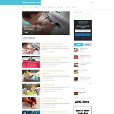 SEWING STORE - Business Website For Sale Mobile Friendly Responsive Design