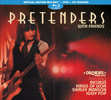The Pretenders & Guests New 2021 Live Concert & M0Re Blu Ray, Dvd & Cd Boxset