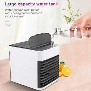 Mini Portable Air Cooler Air Cooling Conditioner Cool Water Tank Fan Humidifier