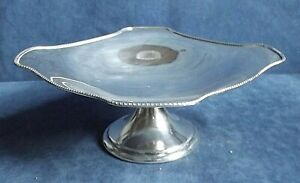 SUPERB ~ SILVER Plated ~ TAZZA / Cake STAND ~ c1925 by John Sherwood