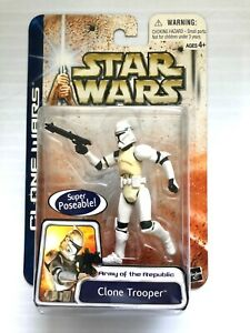 STAR WARS CLONE WARS ARC TROOPER SUPER POSEABLE Cartoon Network Action Figure