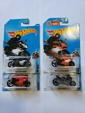Hotwheels Ducati Diavel 1199 Superleggera Panigale Lot of 4
