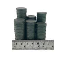 20mm dia x 3mm C8 strong ferrite disk magnets DIY MRO SMALL PACKS CRAFT FRIDGE