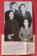 Tsung dao lee & Chen ning yang-press photo 1957!