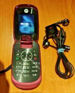 Motorola MOTO U9 - Purple (Unlocked) Mobile Phone