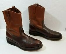 WOLVERINE Men Boots Leather Brown Pull On Size 13 B