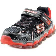 73b88ad2e845 Skechers Boys Skech-Air 2.0 Youth US 1.5 Black Sneakers NWOB 1527